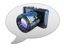 Photos symbol icon or logo template Stock Photos
