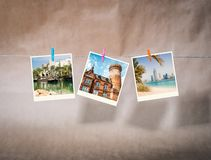 Photos from travels Royalty Free Stock Images