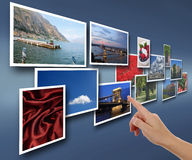 Photos from vacations Stock Images