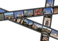 Photos of Vienna. Film strips with travel photos. Vienna, Austria, Europe Royalty Free Stock Photos