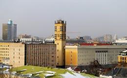 Photos views in the center of Moscow Stock Photos