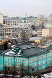 Photos views in the center of Moscow Royalty Free Stock Images