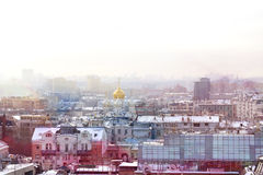 Photos views in the center of Moscow stock images