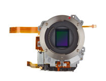 Photosensitive silicon  sensor Stock Photos