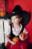 Photosession на хеллоуине стоковое изображение rf
