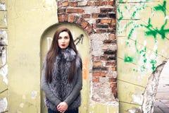 Photosession de rue dans la ville Photographie stock libre de droits