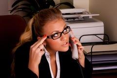 Photoset nell'ufficio Immagine Stock
