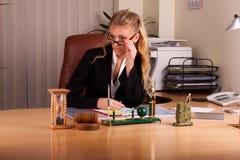 Photoset no escritório Foto de Stock