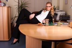 Photoset no escritório Imagens de Stock