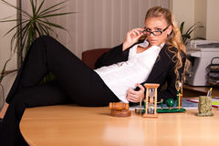 Photoset no escritório Foto de Stock Royalty Free