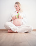 Photoshooting de maternidade Foto de Stock