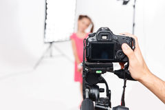 Photoshooting equipment is good as new Stock Images