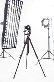 Photoshooting equipment looks perfect right now Royalty Free Stock Photo