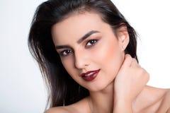 Photoshooting Schönheitsporträt stockfotos