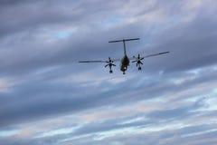 photoshop самолета изолированное летанием Стоковое Изображение RF