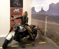 Photoshow 2011, jvc model Stock Images