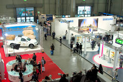 Photoshow 2011, view of stands Stock Image