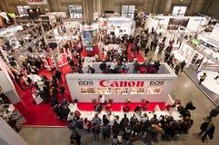 Photoshow: Canon-Standplatz Stockfotografie
