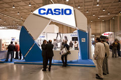 Photoshow: Casio stand Stock Images