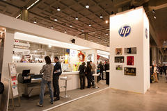 Photoshow: HP stand Royalty Free Stock Image