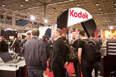 Photoshow: Kodak stand Royalty Free Stock Photo