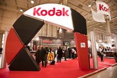 Photoshow: Kodak stand. MILAN - MARCH 25: Kodak stand at Photoshow 2011 in Milan Fair on March 25, 2011 Stock Photos