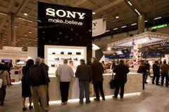 photoshow Sony stoi Zdjęcia Stock