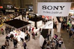 photoshow Sony stoi Zdjęcie Stock