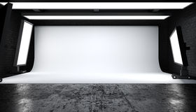 Photostudio Στοκ φωτογραφίες με δικαίωμα ελεύθερης χρήσης