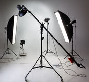 Photostudio equipment Stock Photos