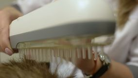 Phototherapy - ljus behandling stock video