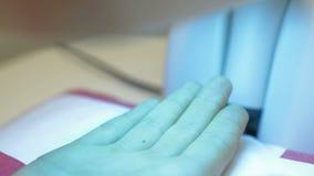 Phototherapy - tratamiento ligero almacen de video