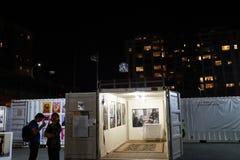 Photoville NYC 2015 10 Arkivbilder