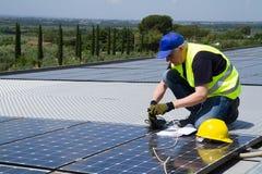 photovoltaïque photographie stock