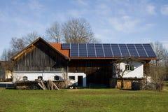 Photovoltaïque bavarois images stock