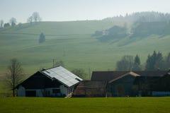 Photovoltaïque bavarois image libre de droits