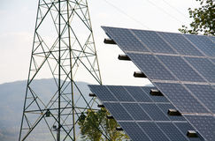Photovoltaic Obrazy Stock