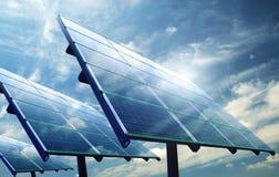 photovoltaic Royaltyfri Fotografi