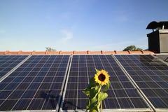 Photovoltaic area Stock Photos