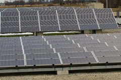 Photovoltaic background. Background photovoltaic blue power cell stock photos