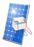 Photovoltaic battery Royalty Free Stock Photo