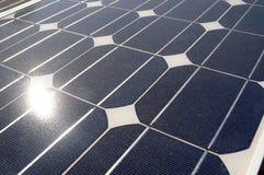 Photovoltaic bron Stock Foto