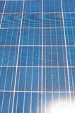 Photovoltaic cell array Royalty Free Stock Images