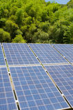 Photovoltaic cell array Stock Images