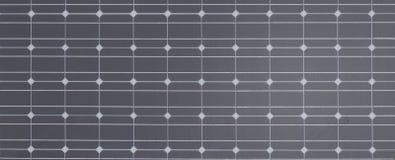 Photovoltaic cellen voor zonnemacht Stock Afbeeldingen