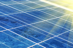 photovoltaic celler Fotografering för Bildbyråer