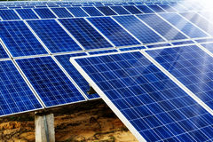 Photovoltaic cells Royalty Free Stock Photo