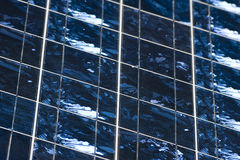 Photovoltaic cells detail royalty free stock image