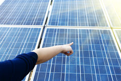 Photovoltaic Cells Royalty Free Stock Image