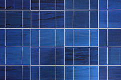 Photovoltaic cells in a solar panel Stock Photos